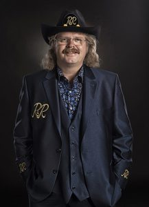 Hans de Vries: zang en gitaar